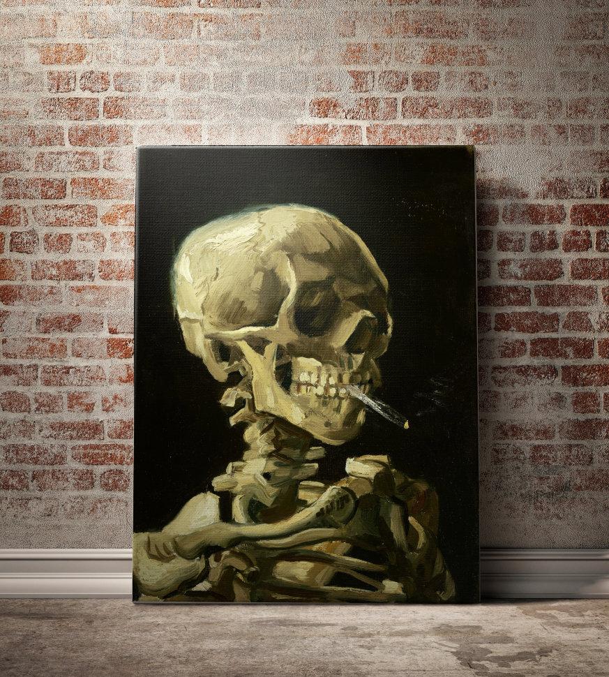Череп с горящей сигаретой купить сигареты оптом в москве от 10 блока москва купить
