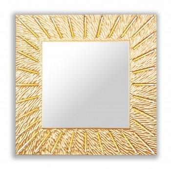 """SUNSHINE (square gold)"""